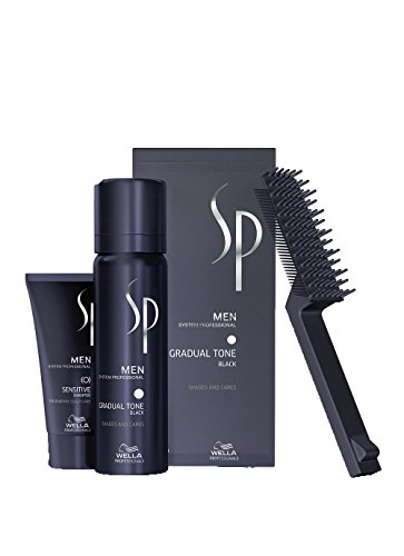 Wella SP Men Gradual Tone Black 60 ml + shampoo, 30 ml