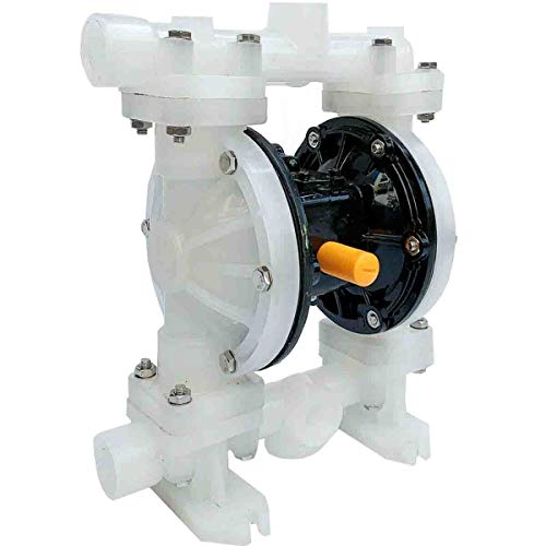 SUDEG 22GPM Air-Operated Double Diaphragm Pump Air Diaphragm Transfer Pump QBY3-25APP for Chemical and Industrial Use 1