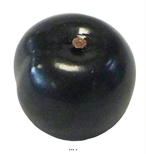Artif-déco.com - Prune Noire artificielle Fruit factice D 6 cm lesté