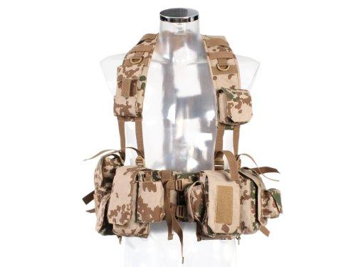 BE-X Kampfmittelweste Ephod/IDF mit Abnehmbarer Erste-Hilfe Tasche - BW tropentarn