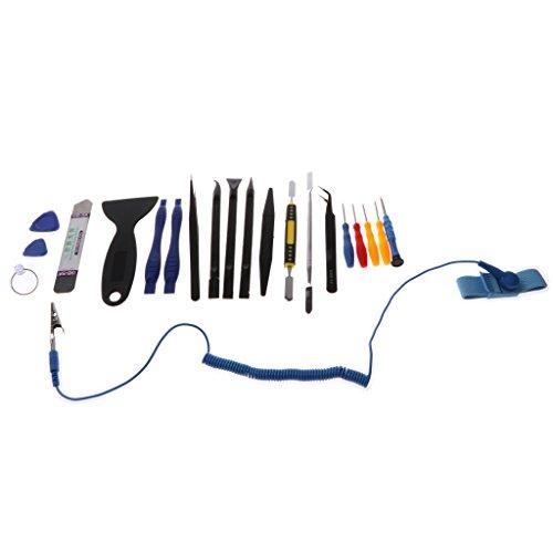 B Blesiya Kit de Herramientas de Reparación de Juego de Destornilladores 21in1 Fix para Laptop PSP
