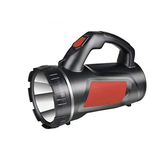 JSJJAUA Faroles de Mano Ultra Potente Recargable de 1200mAh LED de la antorcha Luz de Trabajo portátil Proyector Reflector Linterna Linterna Camping