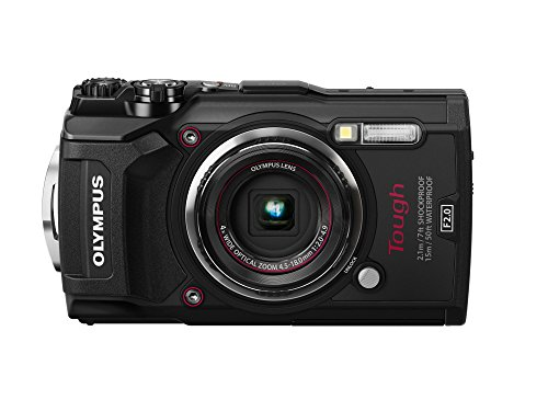 Olympus Tough TG-5 Waterproof Camera with Built-in Wi-Fi & 4K Video Recording (Black)