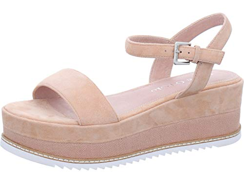 Marc O`Polo Platform Sandalette Größe 39 EU Pink (rosa)