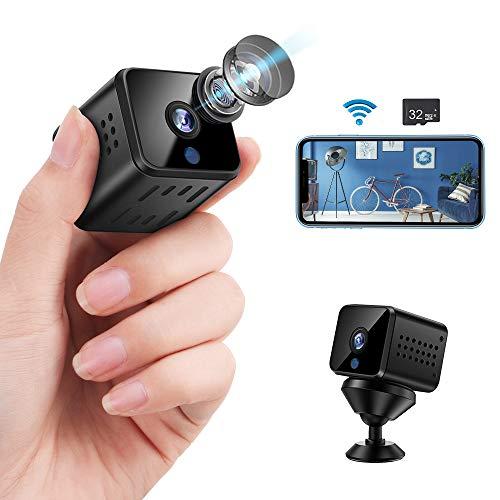 Sunscien Mini Spy Camera, Spy Cameras 1080P Portable Small HD Nanny Cam...