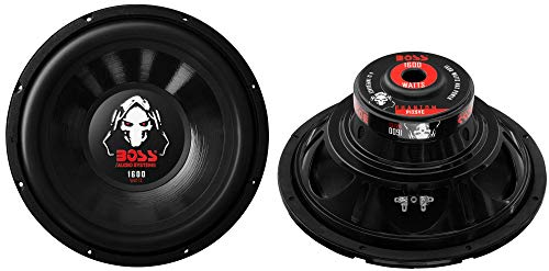2 Boss P12SVC 12' 3200W Car Audio Power Subwoofer Sub Woofer Stereo SVC 4 Ohm