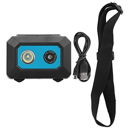 Cámara de Video de Acción, HD 1080p DV Sports Camera Head-mounted Action Video Camcorder DVR...