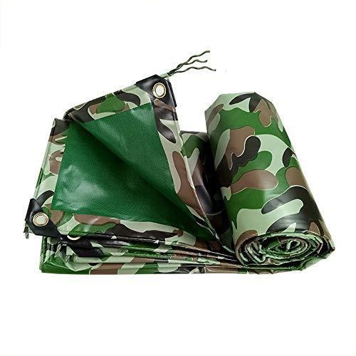 Tarpaulim XSJZ Bâche de Protection imperméable pour Camping, pêche, Jardinage, Voiture, Bateau, Camping, bûches, 450 g/m², 3x5m
