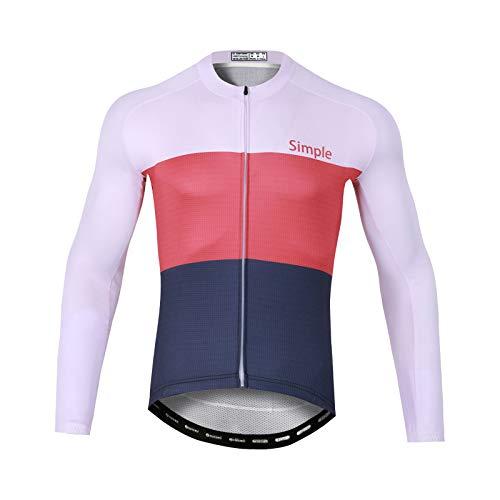 GRTE Maillot De Ciclismo para Hombre, Patrones Personalizados para Montar En Bicicleta...