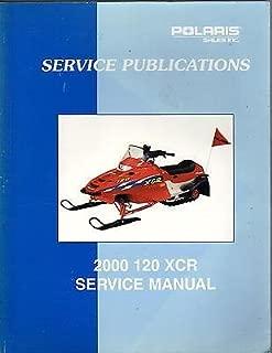 2000 POLARIS 120 XCR SNOWMOBILE SERVICE PUBLICATION MANUAL P/N 9915983 (630)