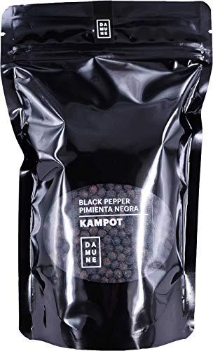 Schwarzer Pfeffer Kampot ganz - Premiumqualität - Neue Ernte 06/2020 - 250g