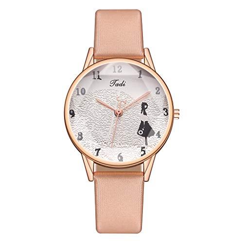 Relojes Para Mujer Cinturón de las señoras Moda Diamante Reloj Pequeño Dial Casual Reloj de cuarzo Reloj Mujer Diseño conciso Pulsera para Relojes de Mujeres Relojes Decorativos Casuales Para Niñas Da