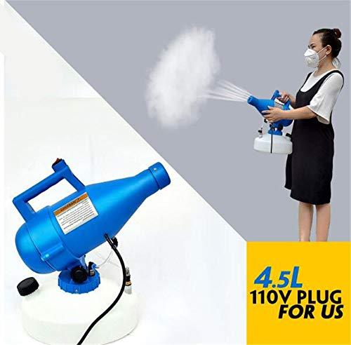 JFJL Elektrisches ULV-Sprühgerät - 4,5 L Tragbares Elektrisches ULV-Thermo-Nebelgerät-Desinfektions-Sprühmaschinensprühgerät Für Die Gartenhygiene Im Innen- Und Außenbereich