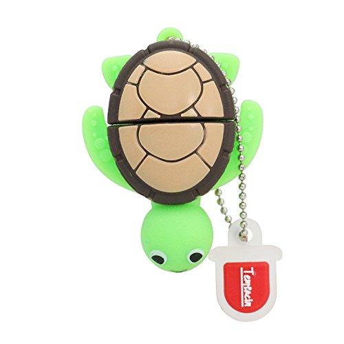 8GB Cartoon der schildkröte USB Flash Drive USB 2.0 Emory Stick Mini - schöne grüne schildkröte Stick