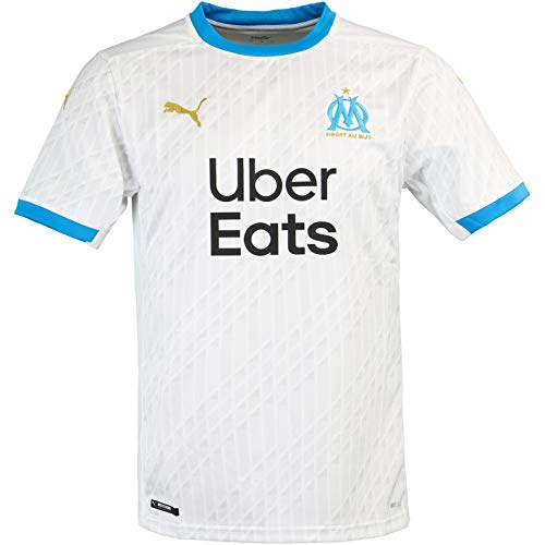 Puma Olympique Marseille - Camiseta deportiva, blanco/azul, xx-large
