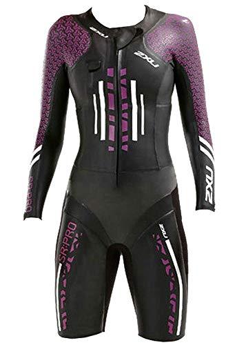 2XU Zwemsport voor dames: Pro Wetsuit- Zwart/Bessen