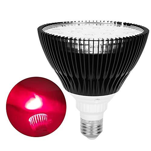 Radiador de calor infrarrojo de 54W para el tratamiento de resfriados y tensión muscular, lámpara de fisioterapia con luz roja 630-660NM, dispositivo de terapia de luz roja para el alivio del dolor ar
