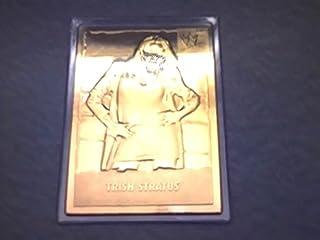 2000 Wwf Wwe Danbury Mint Trish Stratus 22kt Gold Foil Wrestling Card #22 (World Wrestling Federation Entertainment, Inc.)