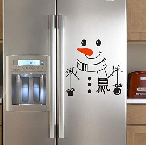Autocollant Mural Good Morning Mignon Autocollant Réfrigérateur Happy Delicious Réfrigérateur Cuisine Stickers Muraux Room Decor 39 * 42 Cm