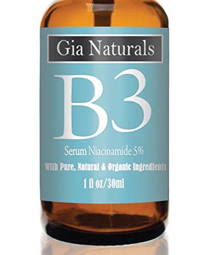 Pure, Organic, Natural Vitamin B3 Serum Cream Niacinamide 5%. 1 or 2...