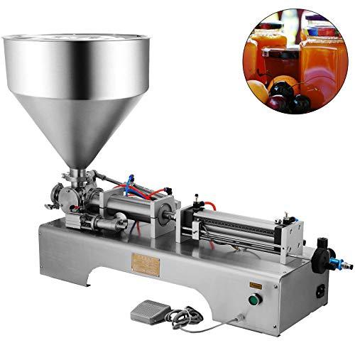 VEVOR Máquina de Llenado de Líquidos de 50-500 ml 0-30