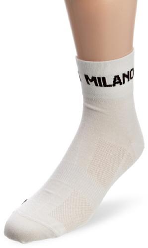 Nalini Bianchi Bianchi - Calzini da ciclismo da uomo, taglia L/XL, colore: Bianco