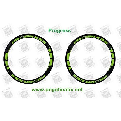 Ruedas MTB Progress XCD-EVO B Decals AUFKLEBER Pegatinas AUTOCOLLANT