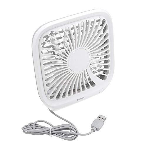 AOWU Ventilador de escritorio FanDC 5 V Mini Protable Silencioso USB Recargable de Escritorio Ventilador de Escritorio