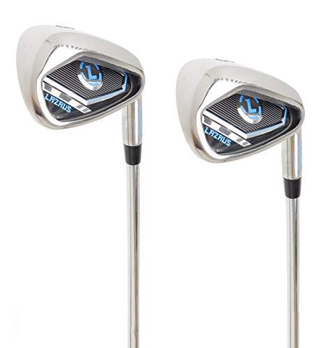 LAZRUS Premium Golf Driving Irons Set for Men (2&3) Right Hand Steel Shaft Regular Flex Golf Clubs - Best Golf Iron Set - Great Golf Gift for Beginner Or Intermediate (2 & 3 Driving Irons Set)