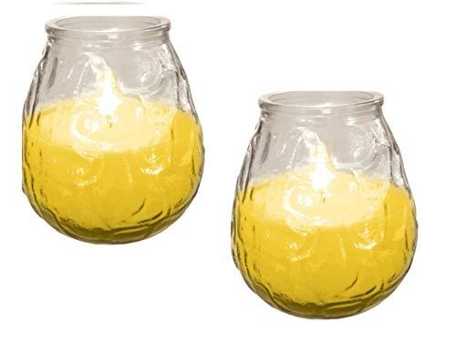 Ram® 2 x Citronella Garden Insense Insektenschutz Rasen Pation Kerzen Teelicht