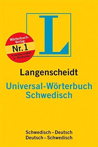 Langenscheidt Universal-Wörterbuch Schwedisch: Schwedisch-Deutsch, Deutsch-Schwedisch