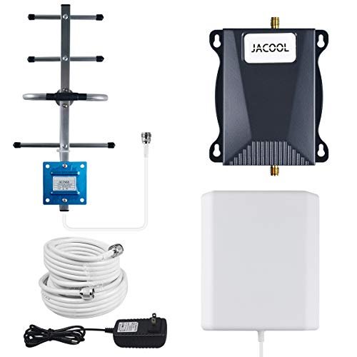 AT&T Cell Phone Signal Booster 4G LTE 700MHz Mobile Signal Booster Repeater Band 12/17 ATT T-Mobile Cell Phone Booster Amplifier for Home and Office