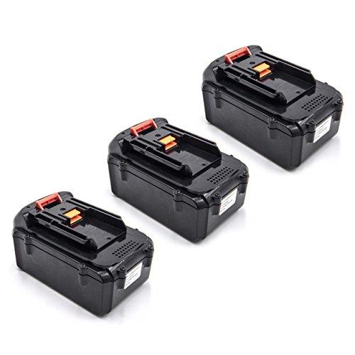 vhbw 3x Baterías Li-Ion 3000mAh (36V) para herramienta eléctrica powertools tools Dolmar AM-3643 Cortacésped a batería
