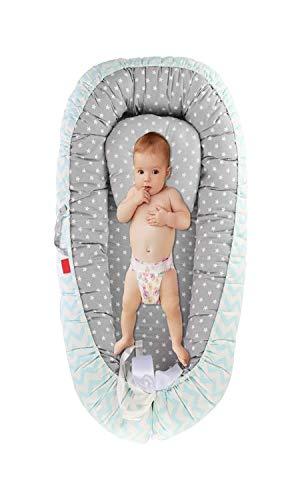 Adjustable Wrenches Cuna del bebé de algodón Transpirable, Portable el Dormir del bebé de la Cama, for la co Dormir, Dormir la Siesta y los Viajes, de Abrazo (Color : B)