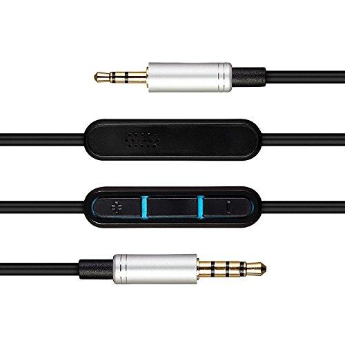 AGS Retail Ltd. kompatibles Audio-Upgrade-Ersatzkabel für Bose Sound True Headphone - 1,5 m, On-Ear-Round-Ear-Kopfhörerkabel mit Audio-Buchsen im Slim-Mould-Design | Audio-Zubehör