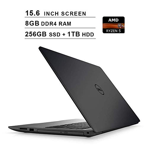 Check Out This Dell Inspiron 15 5000?15.6 Inch FHD 1080P Laptop - AMD 4-Core Ryzen 5 2500U up to 3.6...