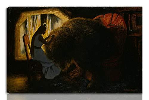 Berkin Arts Theodor Kittelsen Estirado Giclee Imprimir en Li