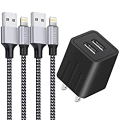 Fast Charging And Data Transfer Via To Usb Sync And High Purity Oxygen Free Copper Core. Ensure The High Speed And Stability Of Charging And Data Sync. 40% Increase Of The Transmission Speed.The Transfer Speed Arrives 20M Every Seconds. Extra Long Ny...