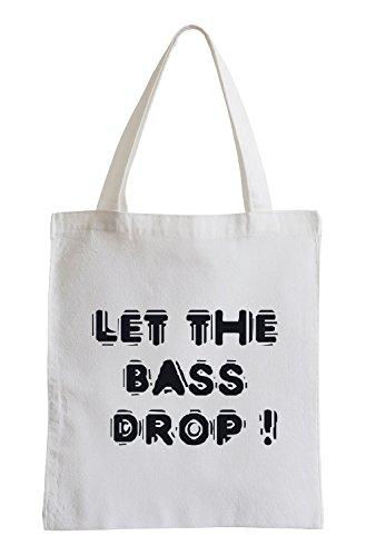 J.Roxx Let The Bass Drop! Jutebeutel