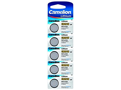 Camelion Lithium Batterie CR2016 3V (5 Stück)