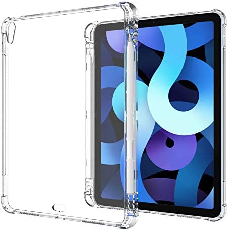 Clear Case for iPad Air 4th Generation 10 9 inch 2020 with Pencil Holder Support Apple Pencil product image
