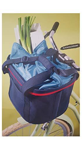 Tchibo TCM Fahrrad Lenkerkorb Lenkertasche Tasche für Lenkrad Fahrradtasche Korb