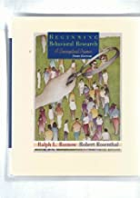 Beginning Behavioral Research: A Conceptual Primer by Ralph L. Rosnow (1998-08-06)