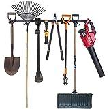 Heavy Duty Garage Tool Organizer | Garden Tool Storage | 48 Inch 8 Heavy Duty...