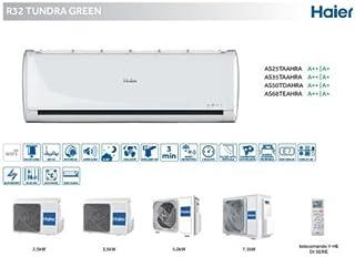 Haier Climatizador Inverter 9000BTU clase A + + Tundra Green Gas R32