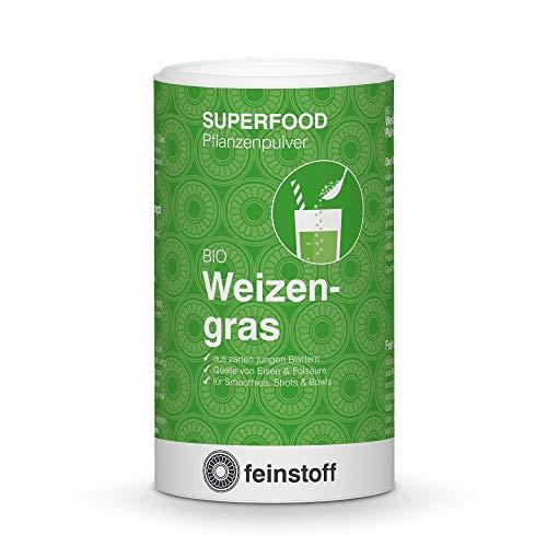 feinstoff Weizengras Pulver bio, 125 g
