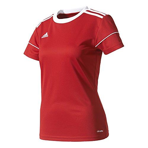 adidas Squad 17 JSY W Camiseta, Mujer, Rojo (Rojpot Blanco), L