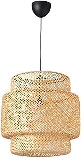 SINNERLIG - Lámpara colgante de bambú