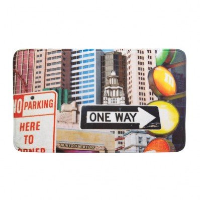 Zingz & Thingz City Traffic Signs Floor MAT
