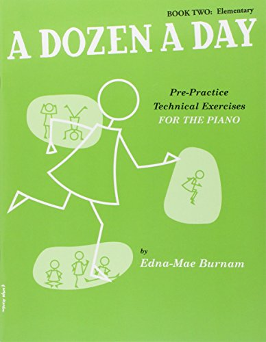 A Dozen A Day Book Two: Elementary [Lingua inglese]